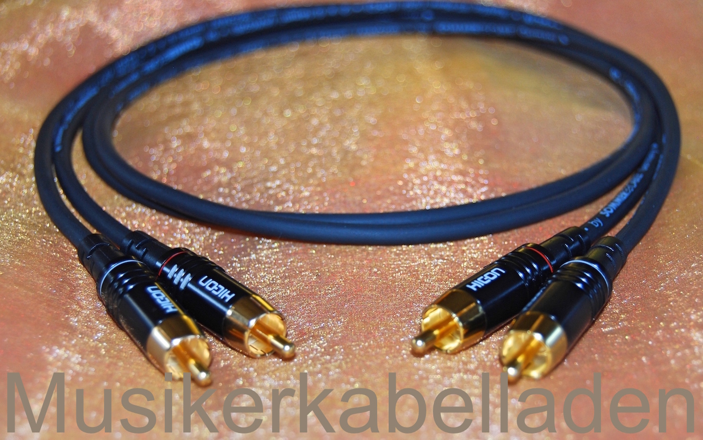Sommer GOBLIN NF-/ Phono-/ Cinchkabel HiFi-Kabel (Kabelpaar)