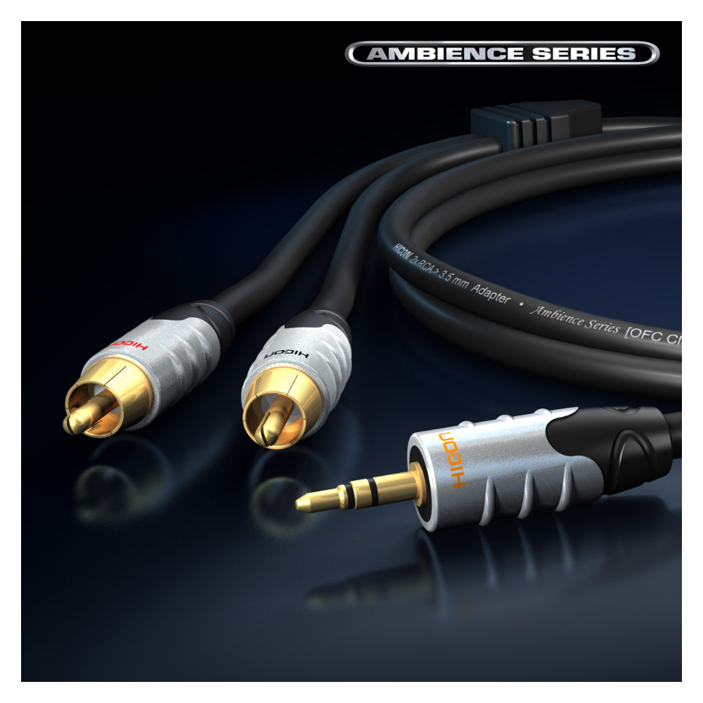 sommercable ambience series stereo audio kabel cinch. Black Bedroom Furniture Sets. Home Design Ideas