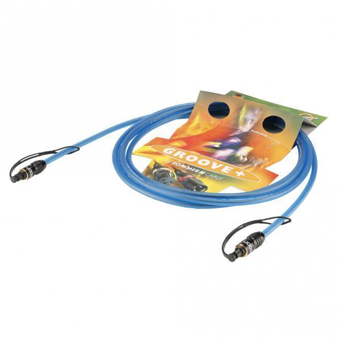 Sommer Cable 0,75 m Toslink Kabel POF LWL Kabel Digital Kabel Optisches Kabel