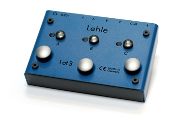 LEHLE 1at3 SGoS True-Bypass Switcher