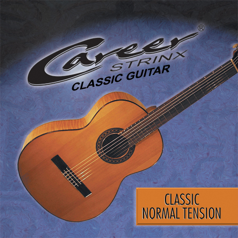 Career Classic Saiten Normal Tension, Konzert-Klassik-Gitarre