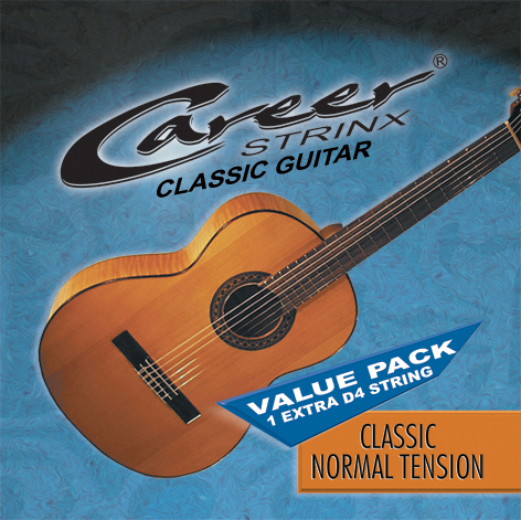Career Classic Saiten Normal Value Pack, Konzert-Klassik-Gitarre