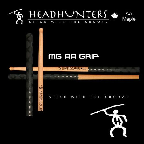Drumsticks, Headhunters Maple Grooves AA Grip